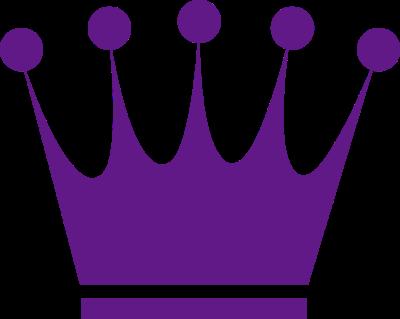 Purple tiara clip art 2
