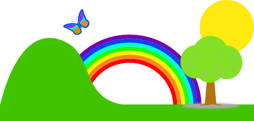Rainbow clip art images free clipart 2 2