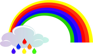 Rainbow clip art images free clipart 2