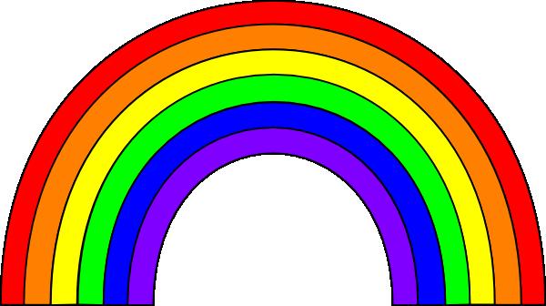 Rainbow clipart 2
