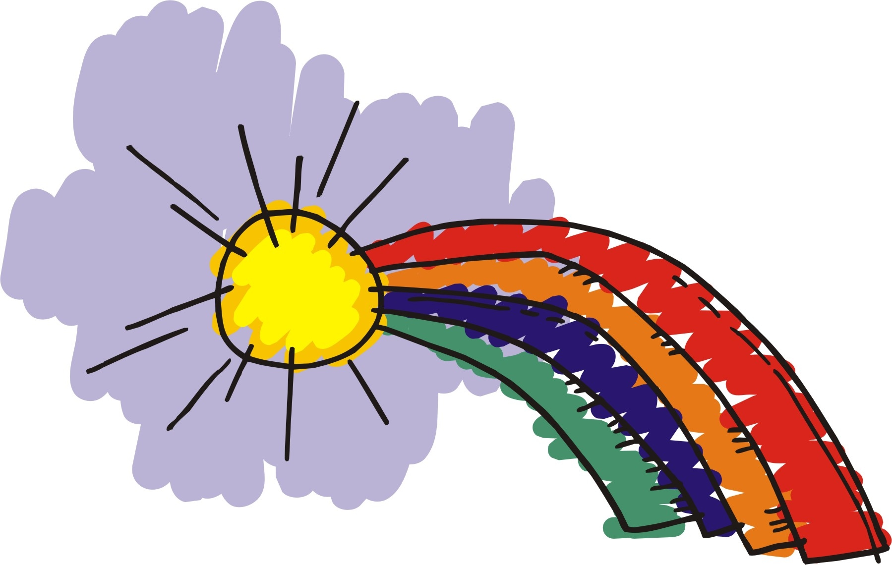 Rainbow clipart 3 2