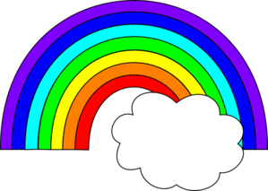 Rainbow clipart 6
