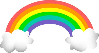 Rainbow clipart for kids free images 5