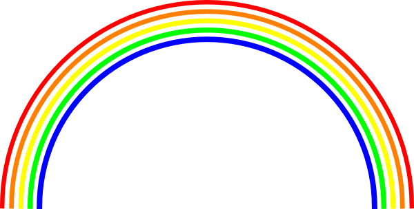 Rainbow clipart images 2