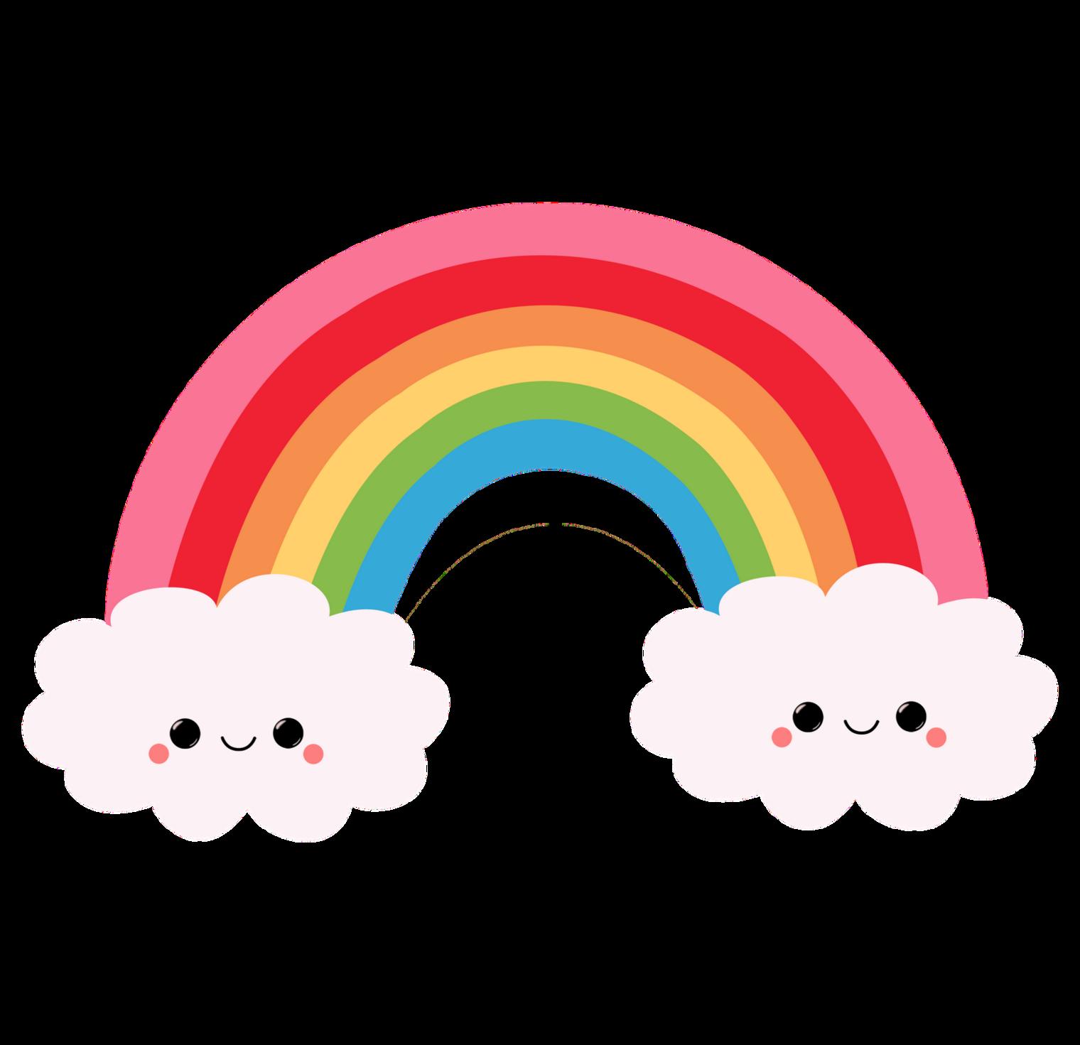 Rainbow clipart tumblr