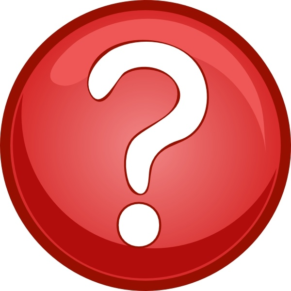 Red question mark circle clip art free vector in open office