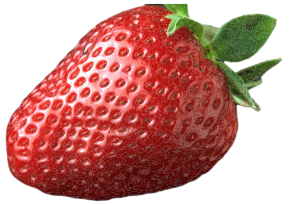 Ripe strawberry clipart food fruit berries