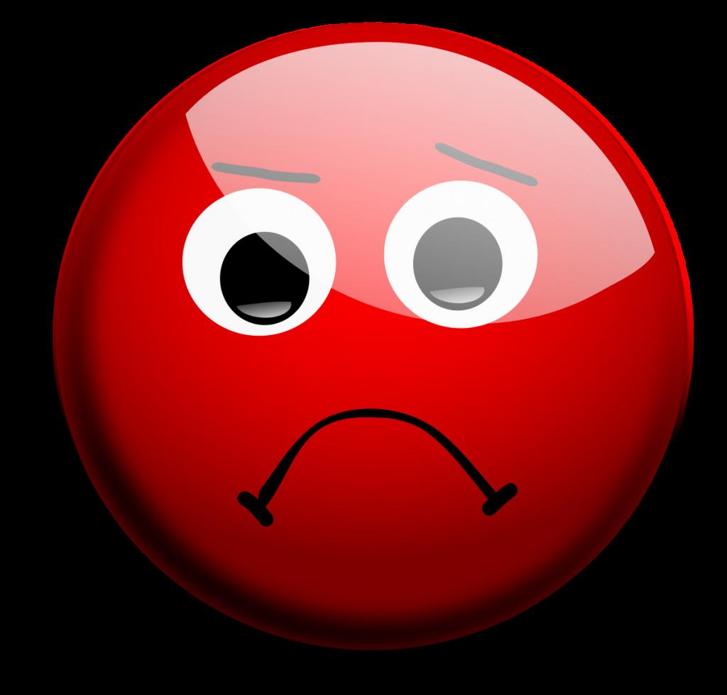 Sad face clip art 4