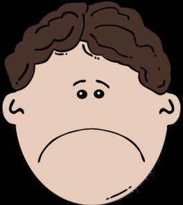 Sad face clip art clipart 2