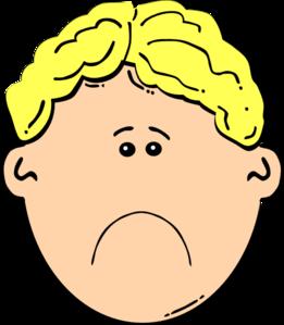 Sad face clip art clipart