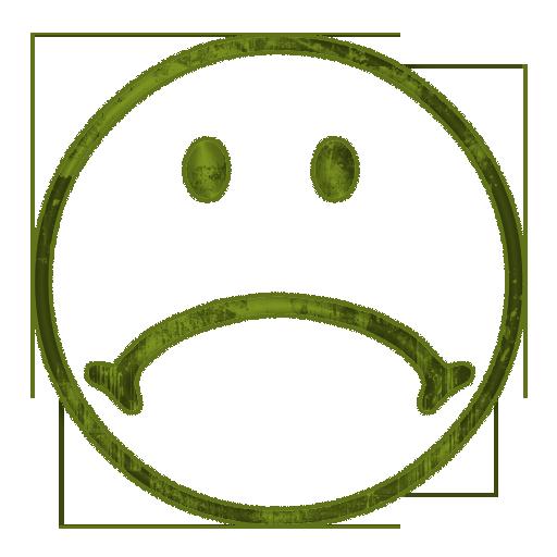 Sad face sad clipart