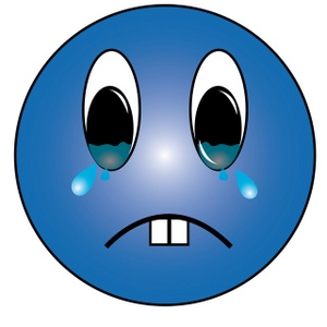 Sad face sad smiley clipart free images 3