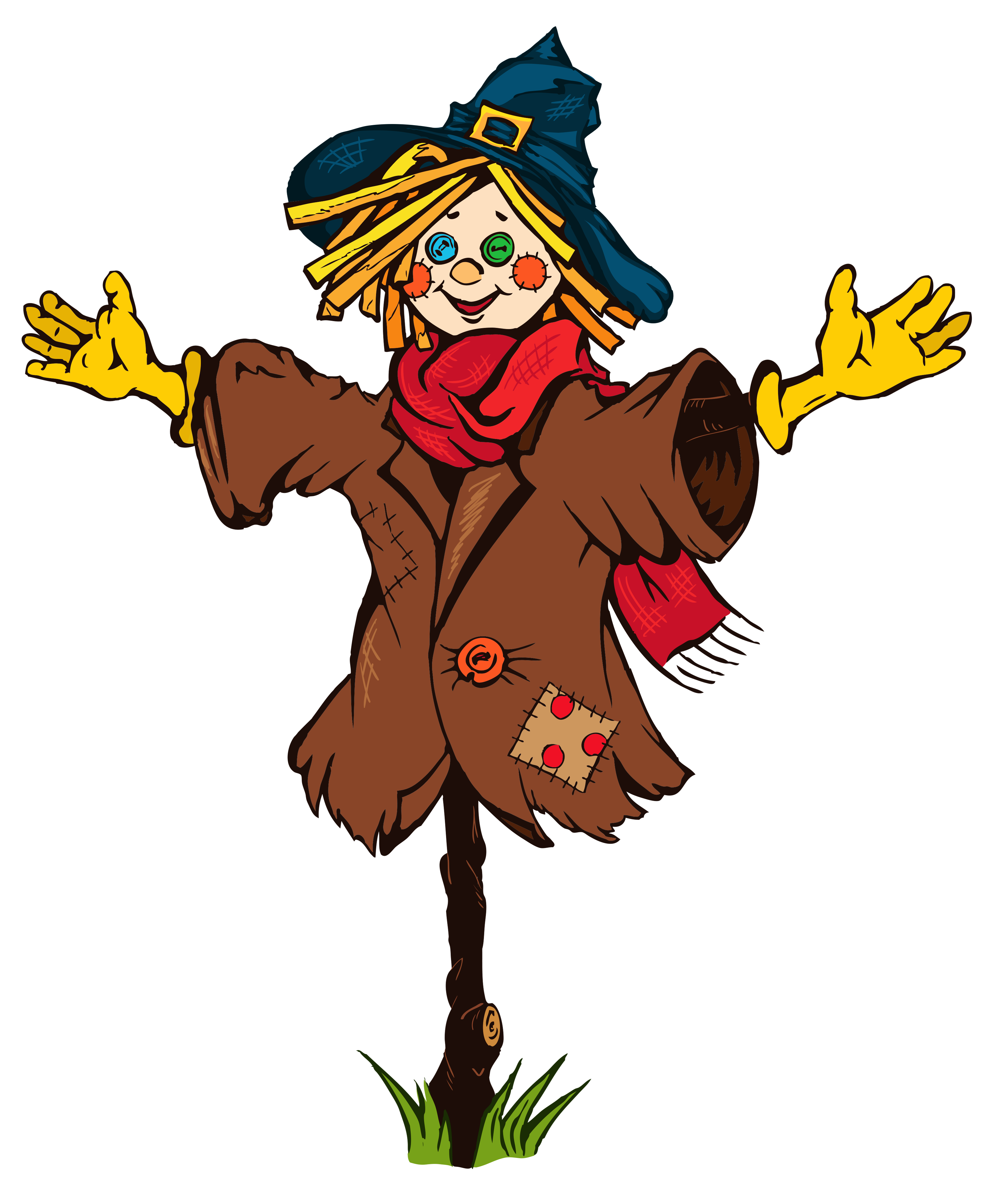 Scarecrow clip art for kids free clipart images 2