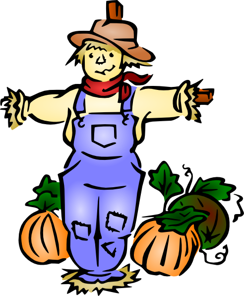 Scarecrow clip art for kids free clipart images