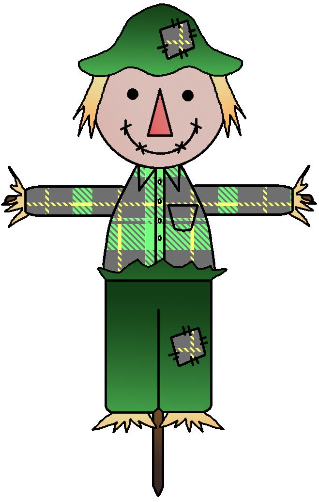 Scarecrow clipart 4