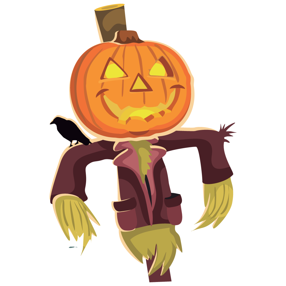 Scarecrow clipart 5