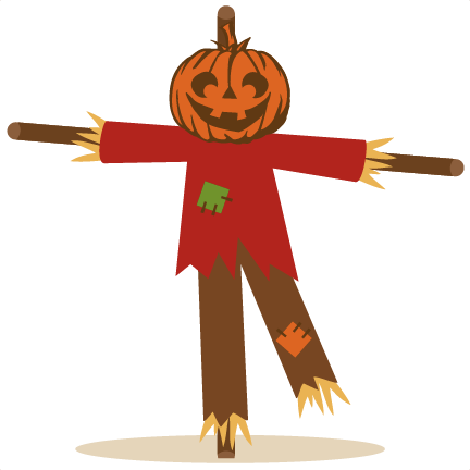 Scarecrow clipart 6