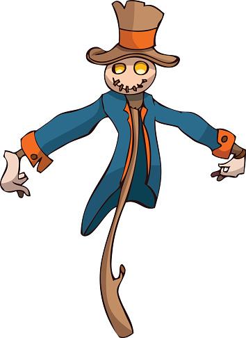 Scarecrow vector clipart