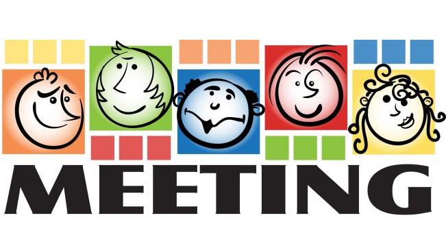 School meeting clipart