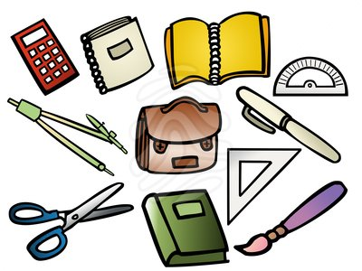 School supplies clipart free images 7