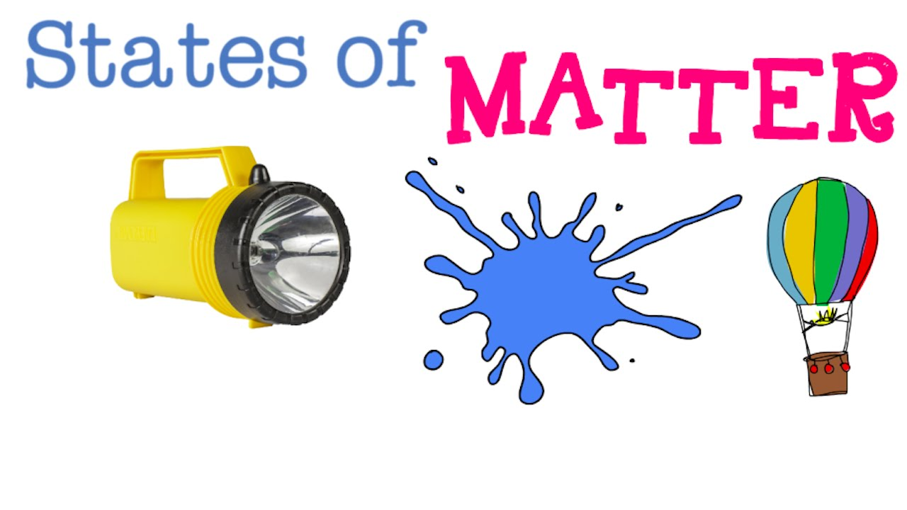 Science matter clipart 4