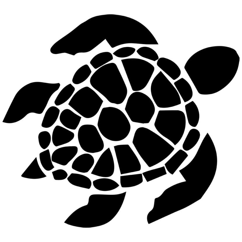 Sea turtle clipart silo
