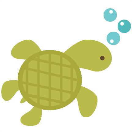 Sea turtle clipart transparent background