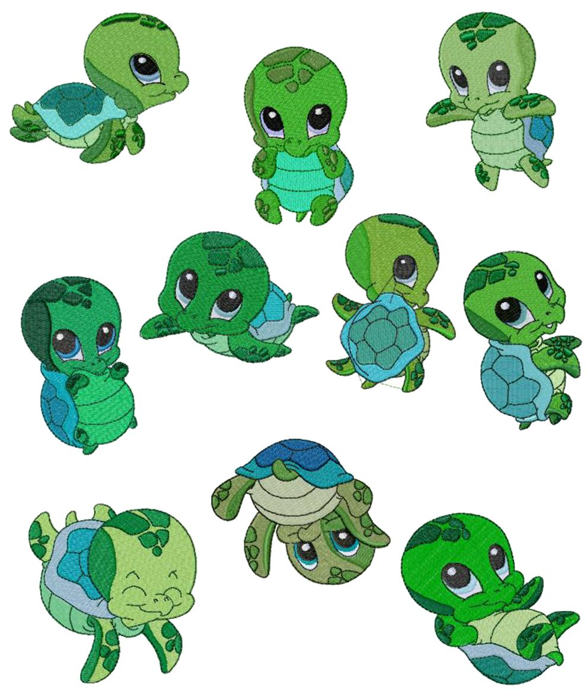 Sea turtle on sea turtles crafts and clip art