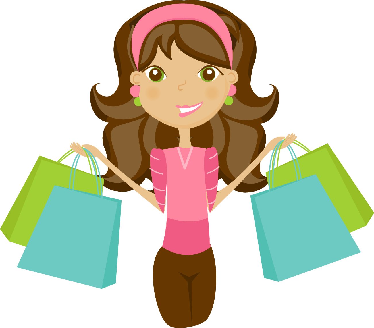 Shopping clip art free clipart images