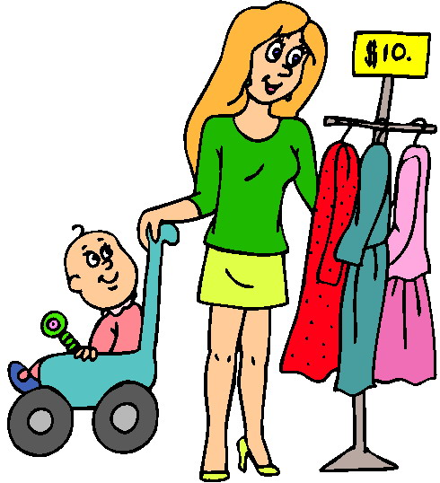 Shopping images clip art 4