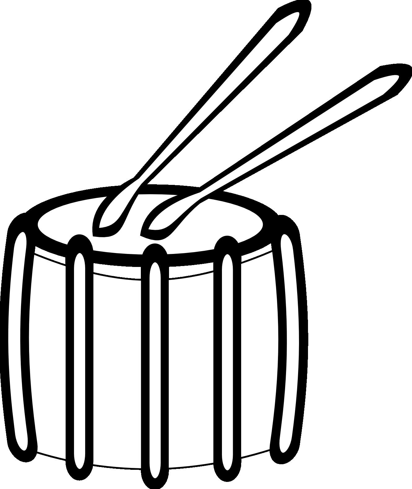 Snare drum clip art 2