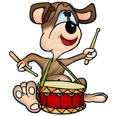 Snare drum dog drum clipart