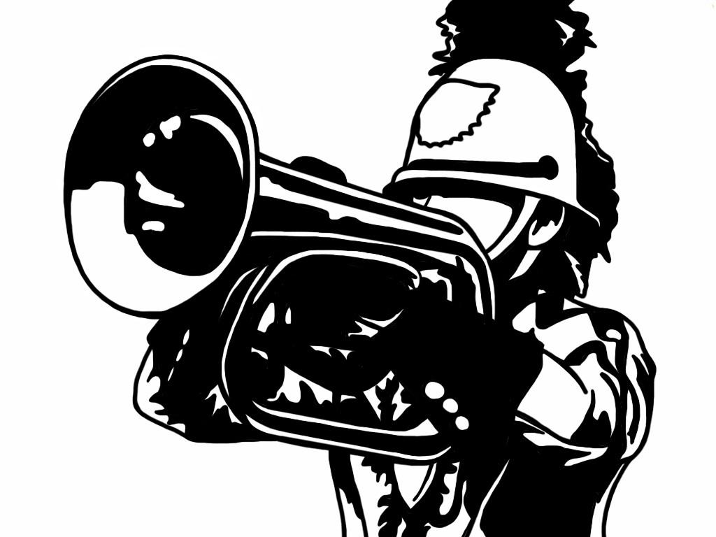 Snare drum quad drum clip art 2