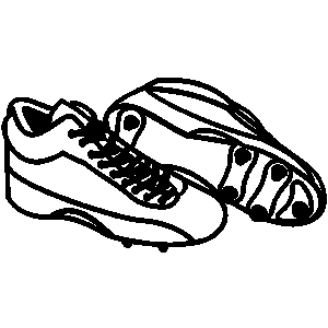 Soccer cleats football cleats clipart decorating