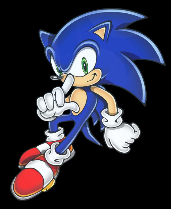 Sonic clip art 12