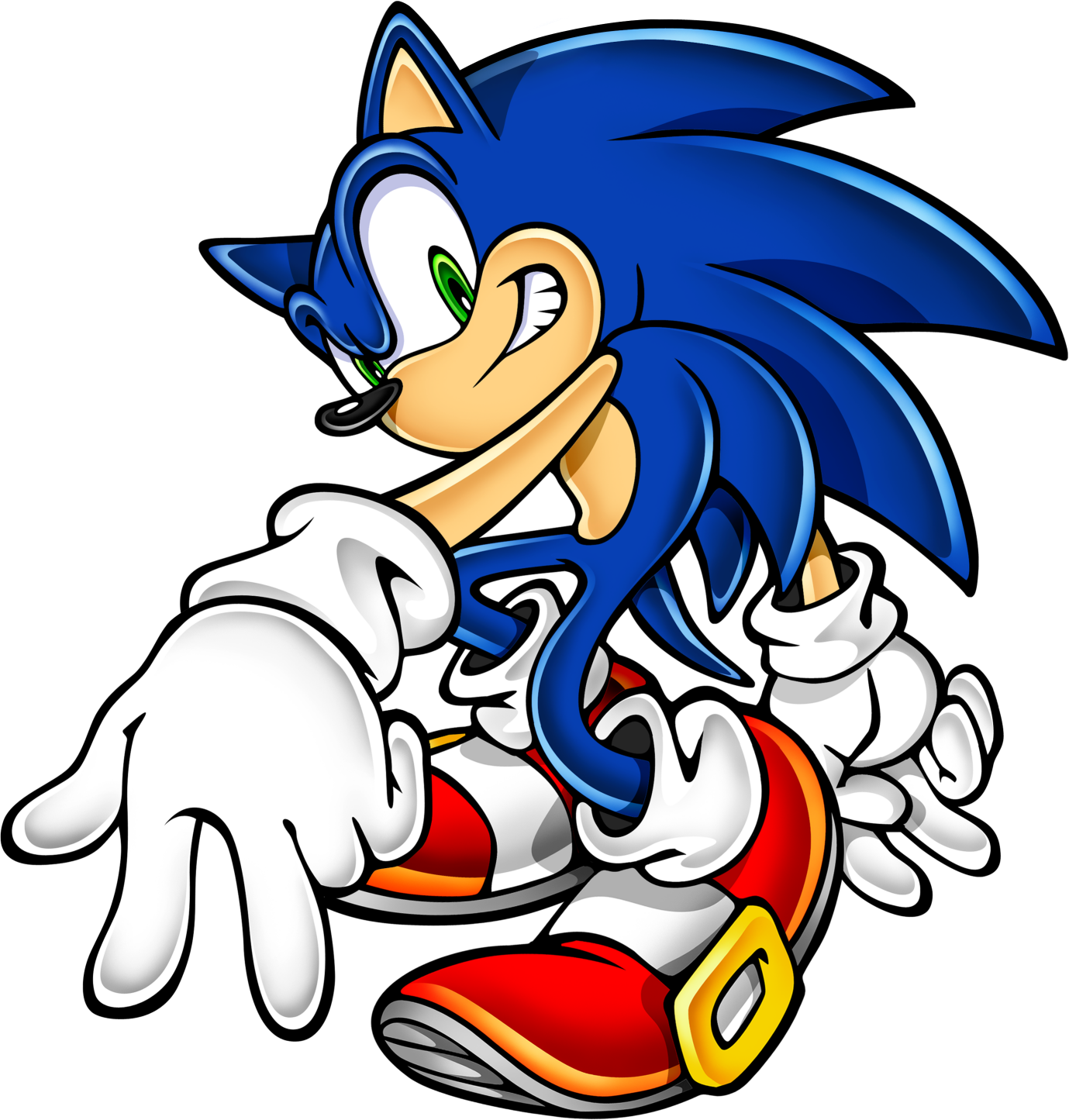 Sonic clip art 13