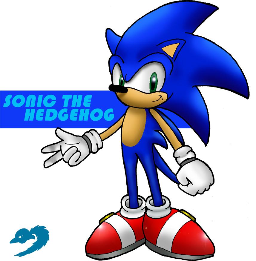 Sonic clip art 14