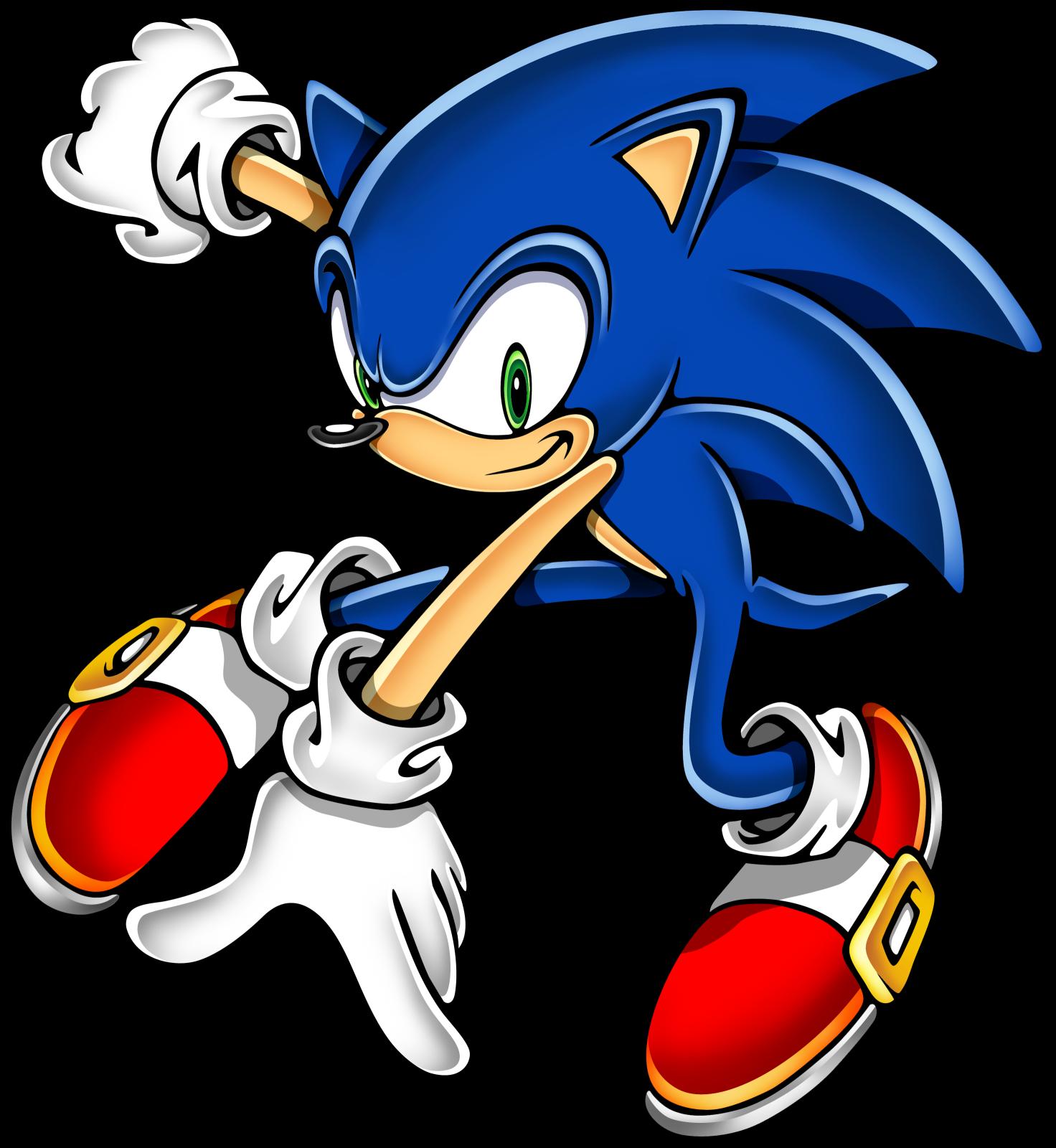 Sonic clip art 16