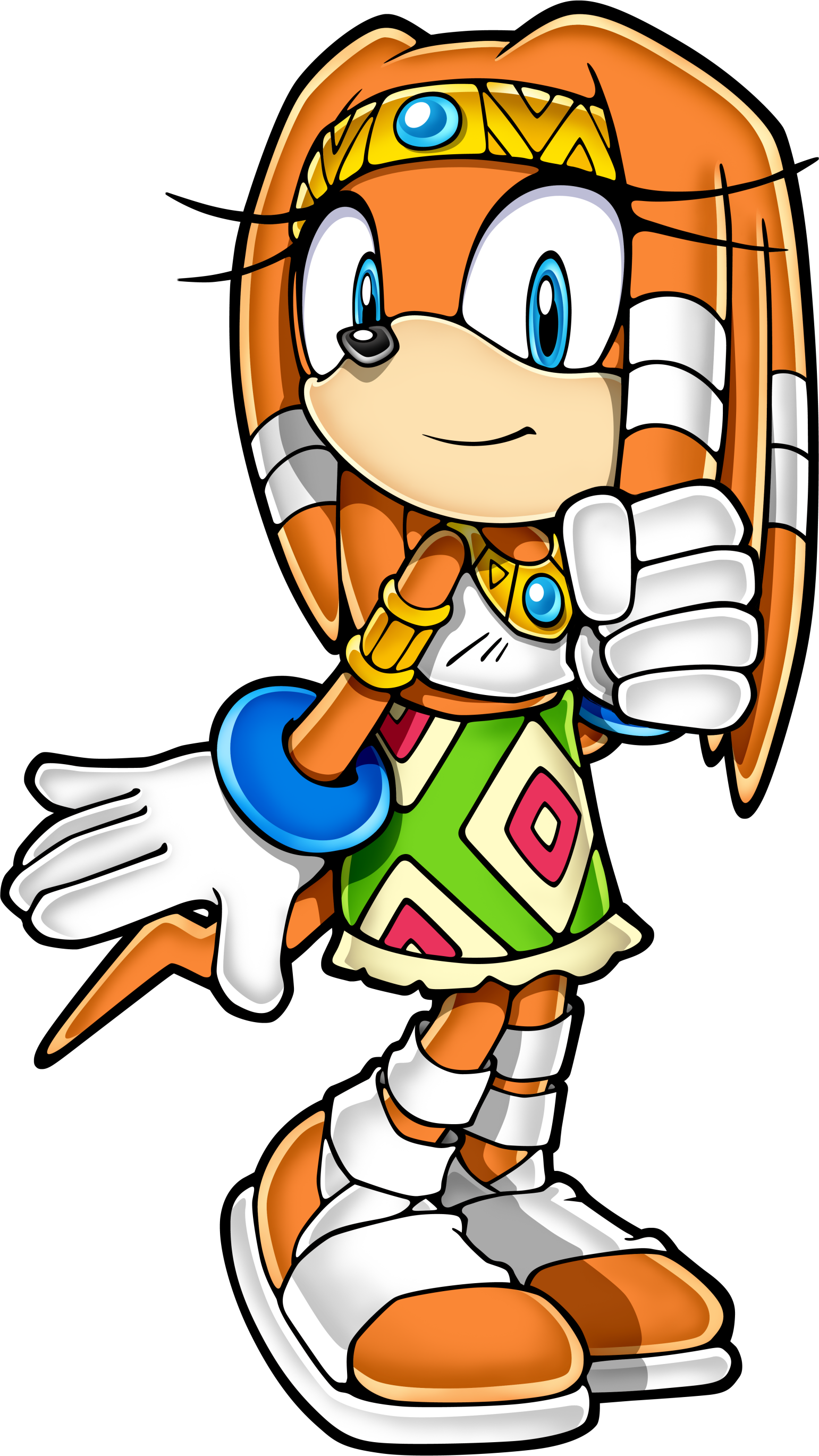Sonic clip art 21