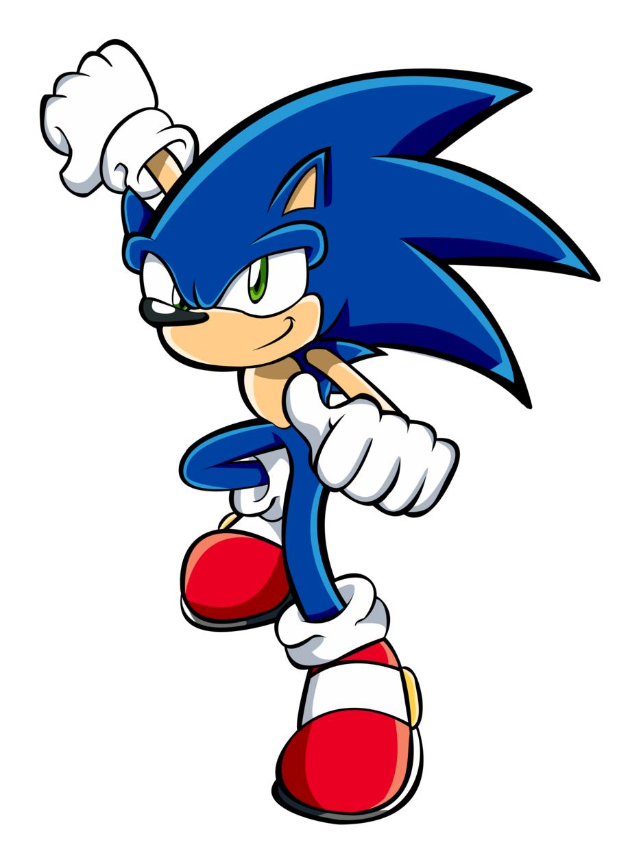 Sonic clip art 3