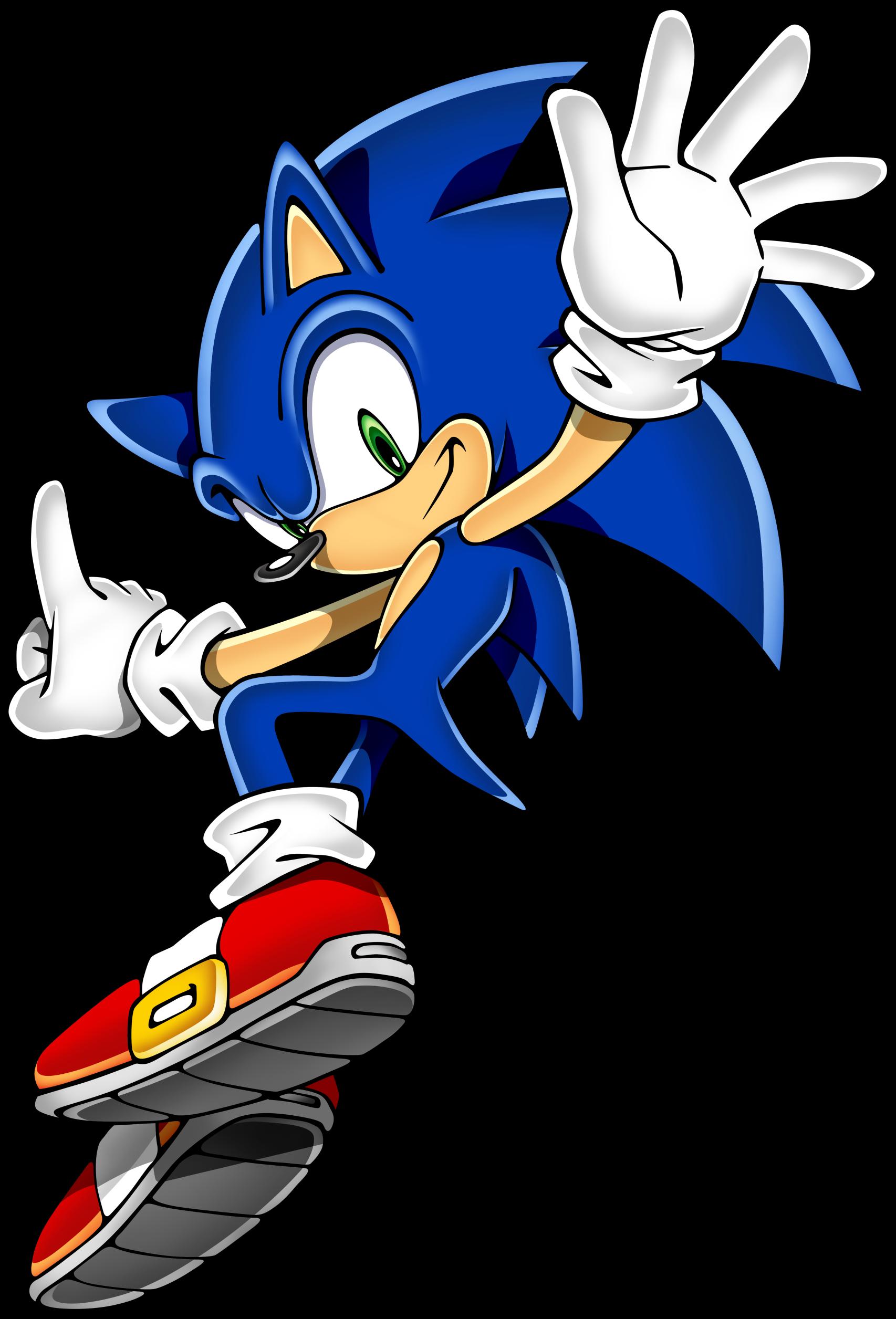 Sonic clip art 7