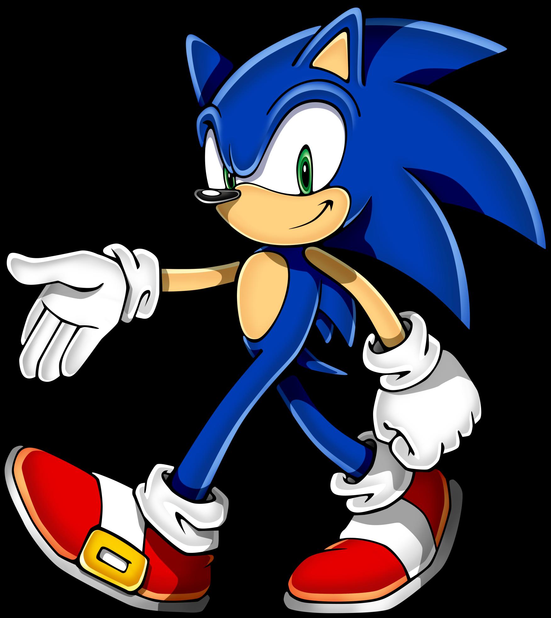 Sonic clip art 8