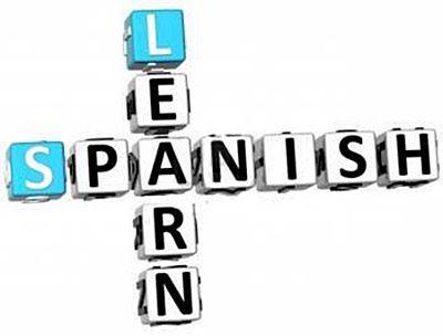 Spanish class clipart sign espanol 2