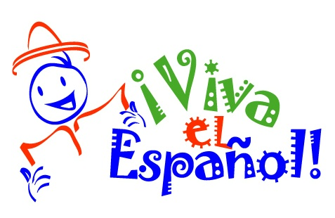 Spanish class sign clipart
