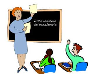 Spanish class spanish teacher clipart