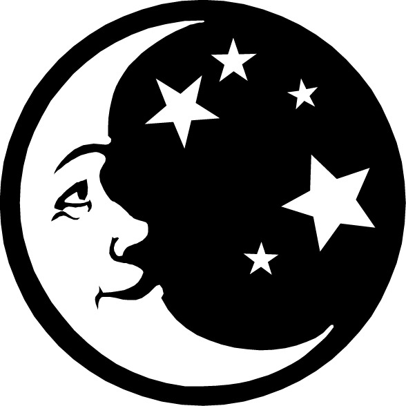 Stars and moon clipart cliparts others art inspiration