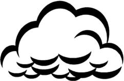 Storm clouds clipart free images