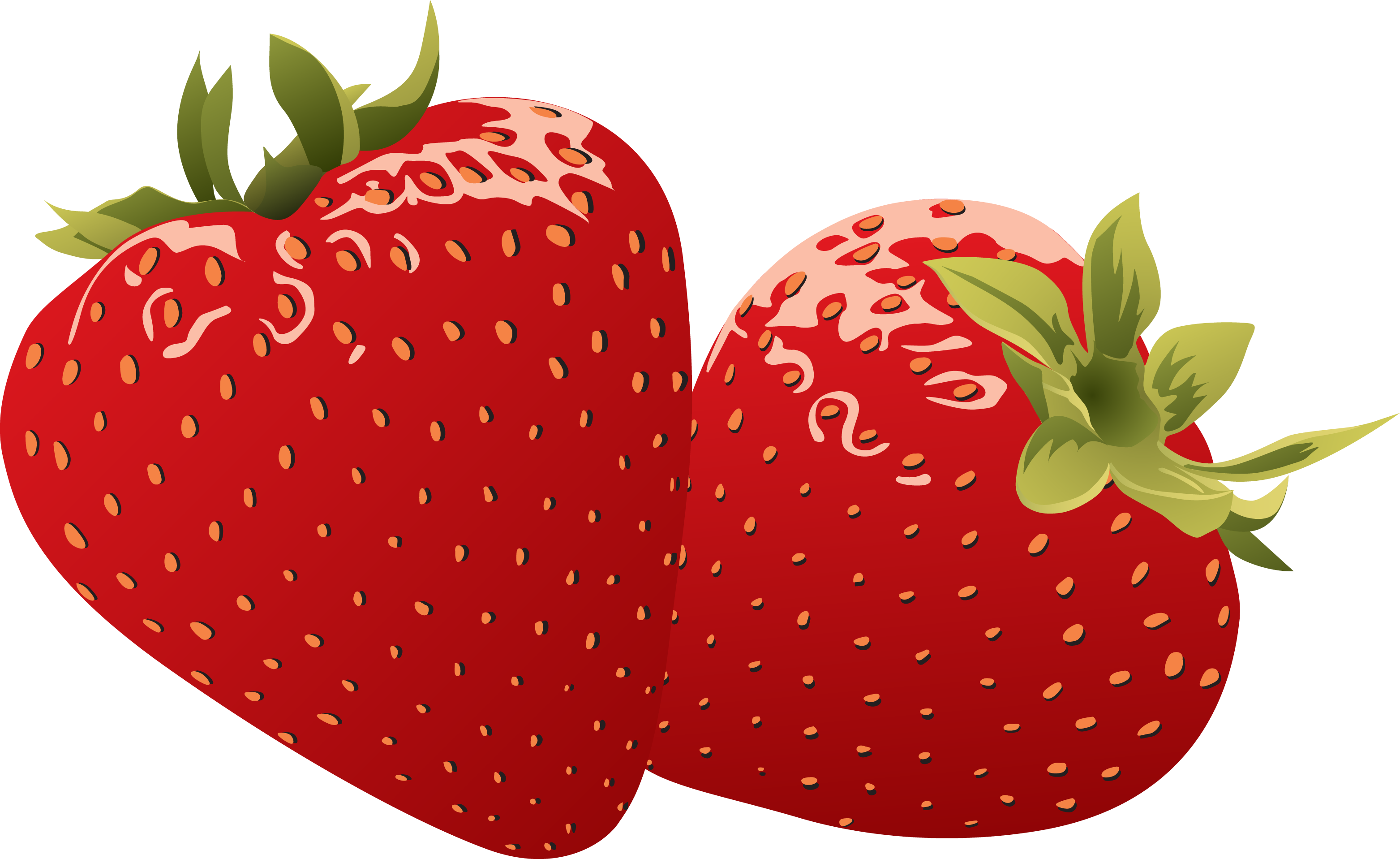 Strawberry clipart free