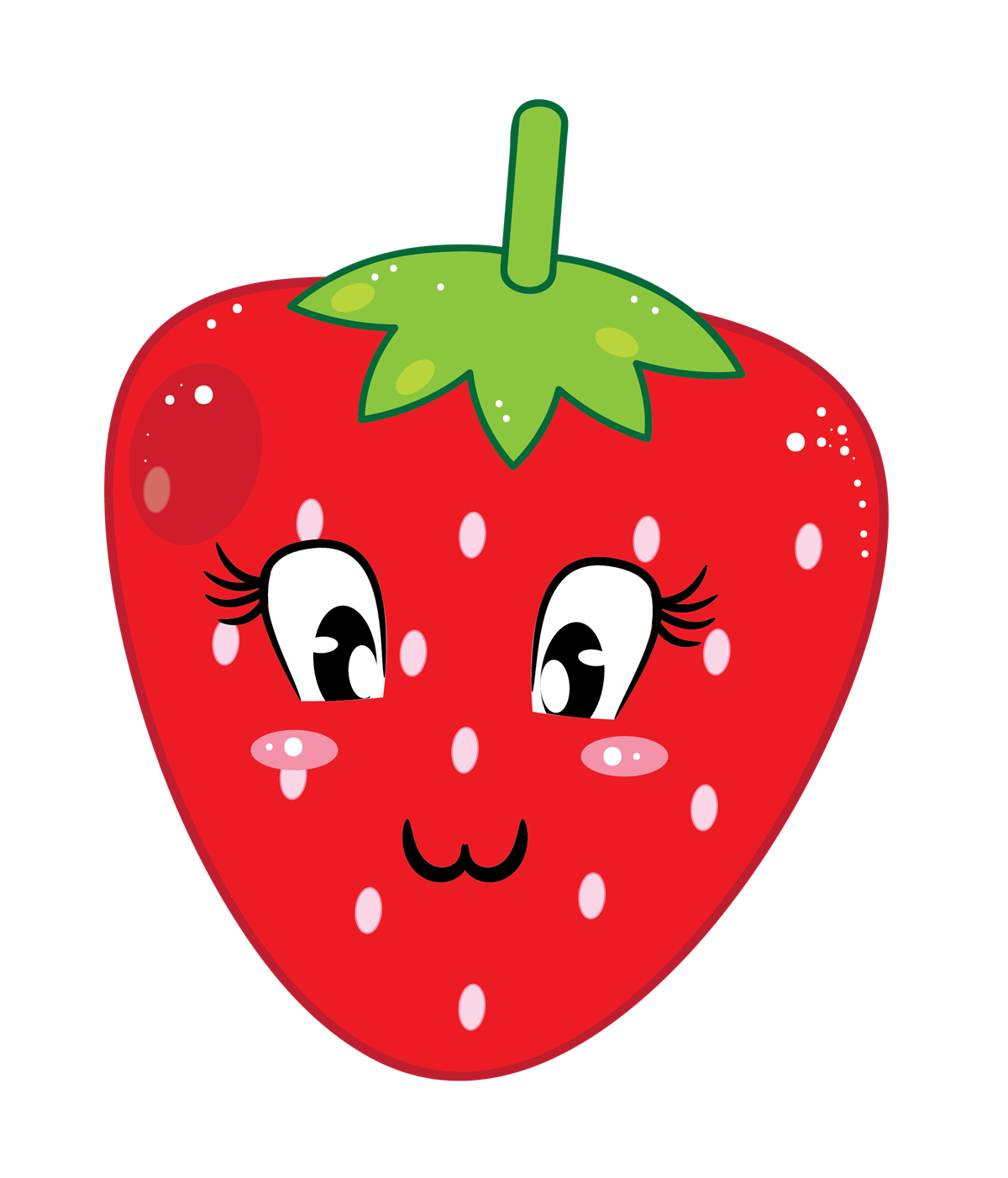 Strawberry free to use clipart 2