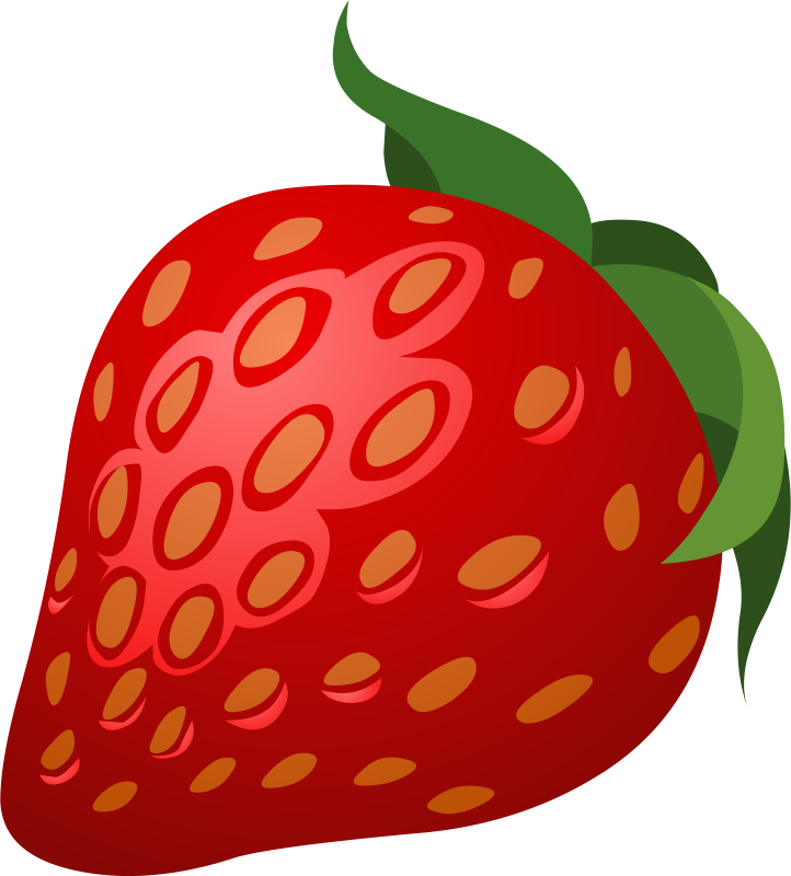 Strawberry free to use clipart